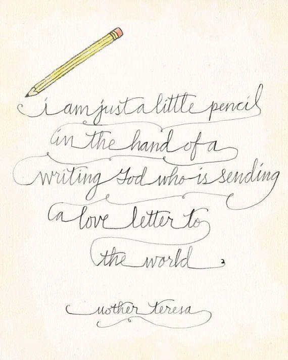 I am a little pencil image